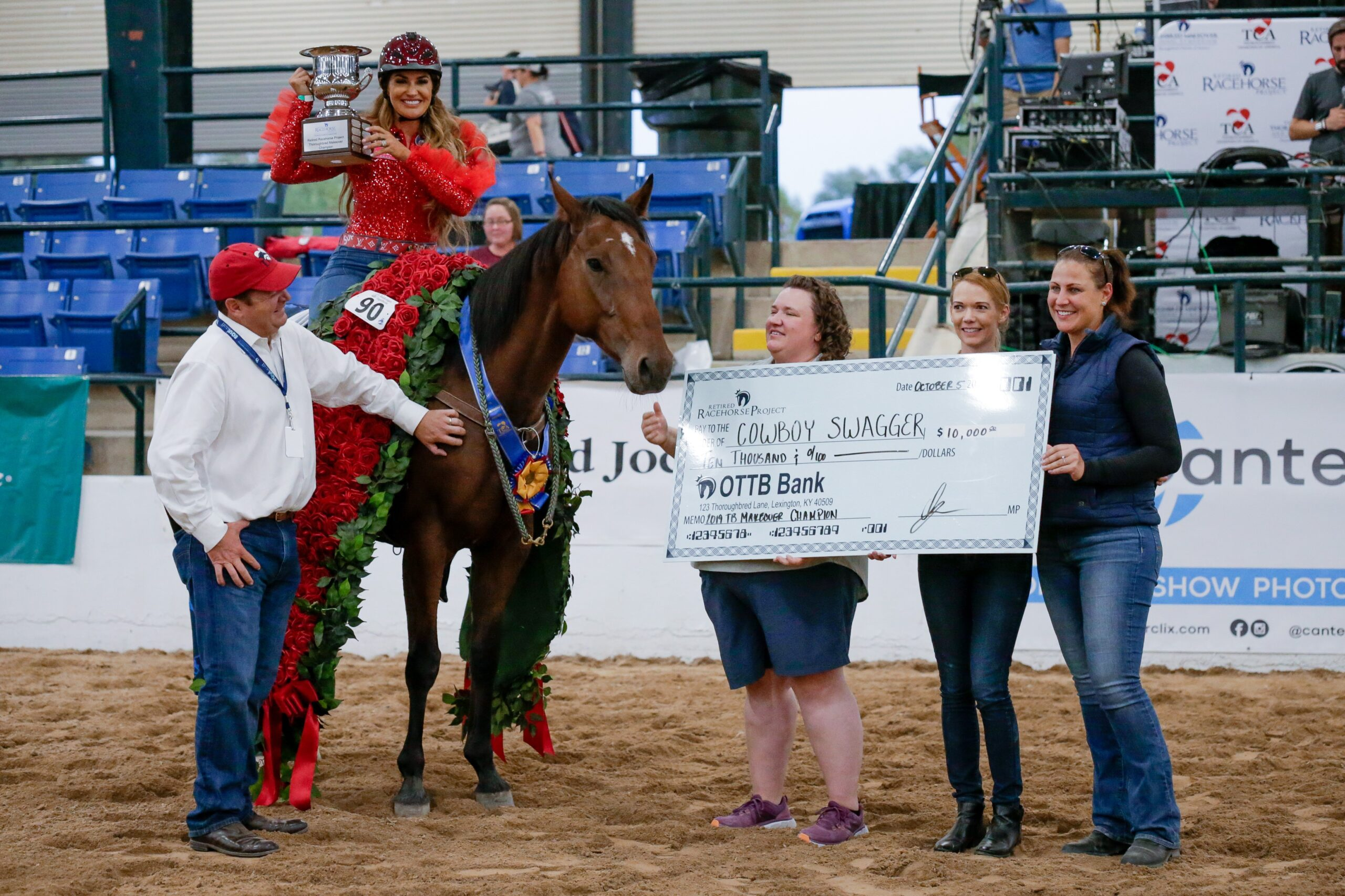 2020 THOROUGHBRED EDUCATION AND RESEARCH FOUNDATION  AWARDS $4000 TO  RETIRED RACEHORSE PROJECT